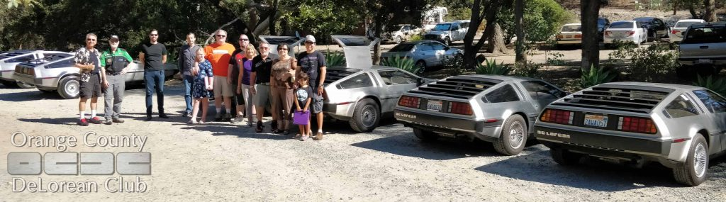 Orange County DeLorean Club 2018 Fall Drive | OCDeLoreans.com