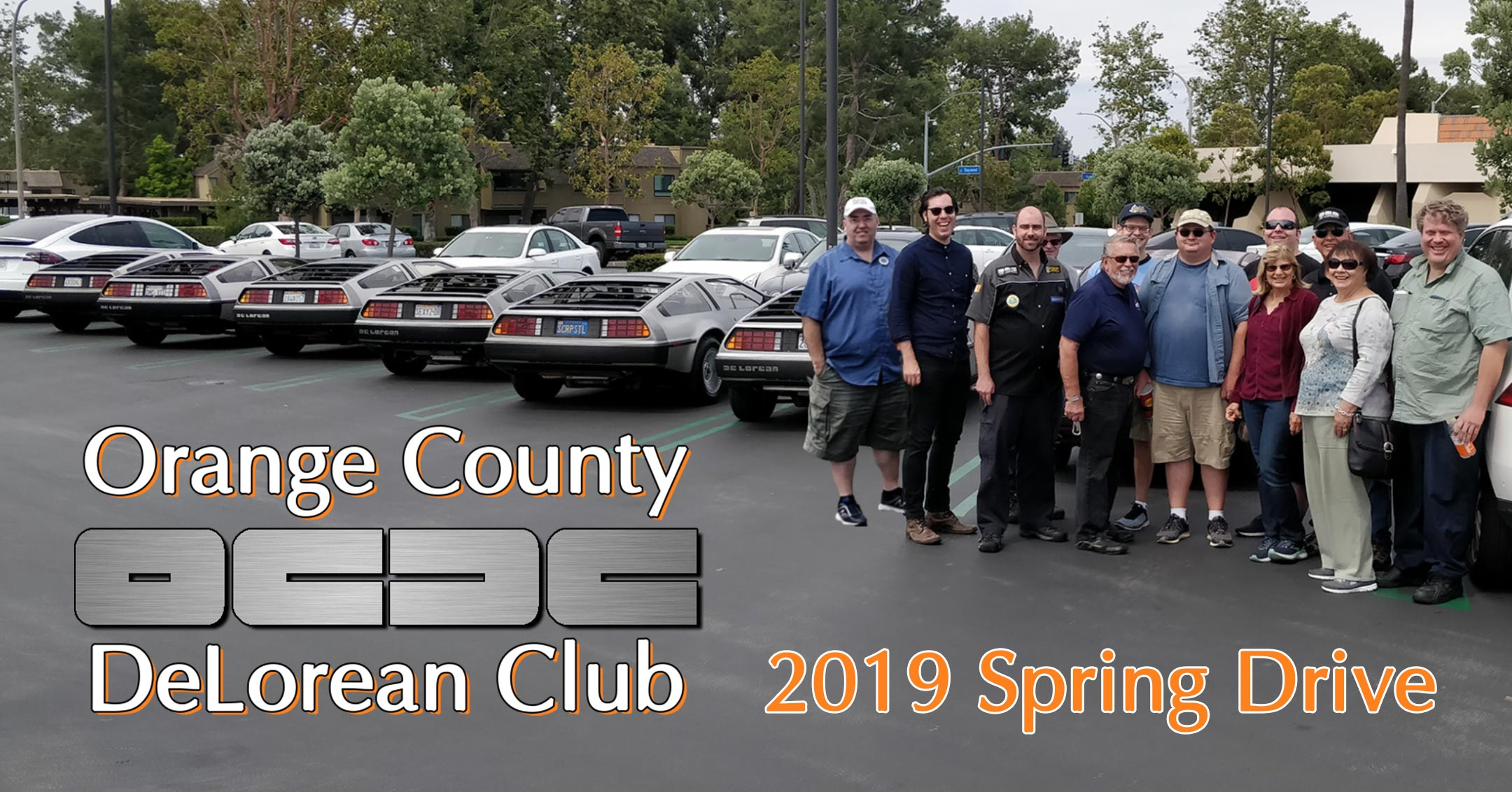 OCDC 2019 Spring Drive | Orange County DeLorean Club