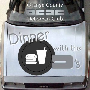 Dinner with the D's | Orange County DeLorean Club
