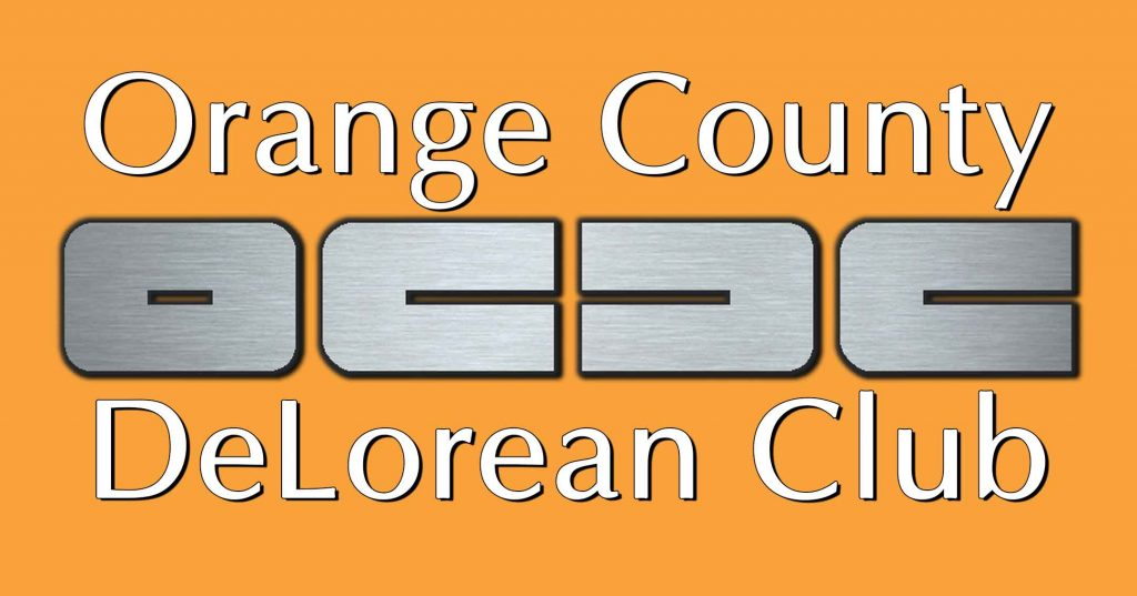 Orange County DeLorean Club | OCDeLoreans.com