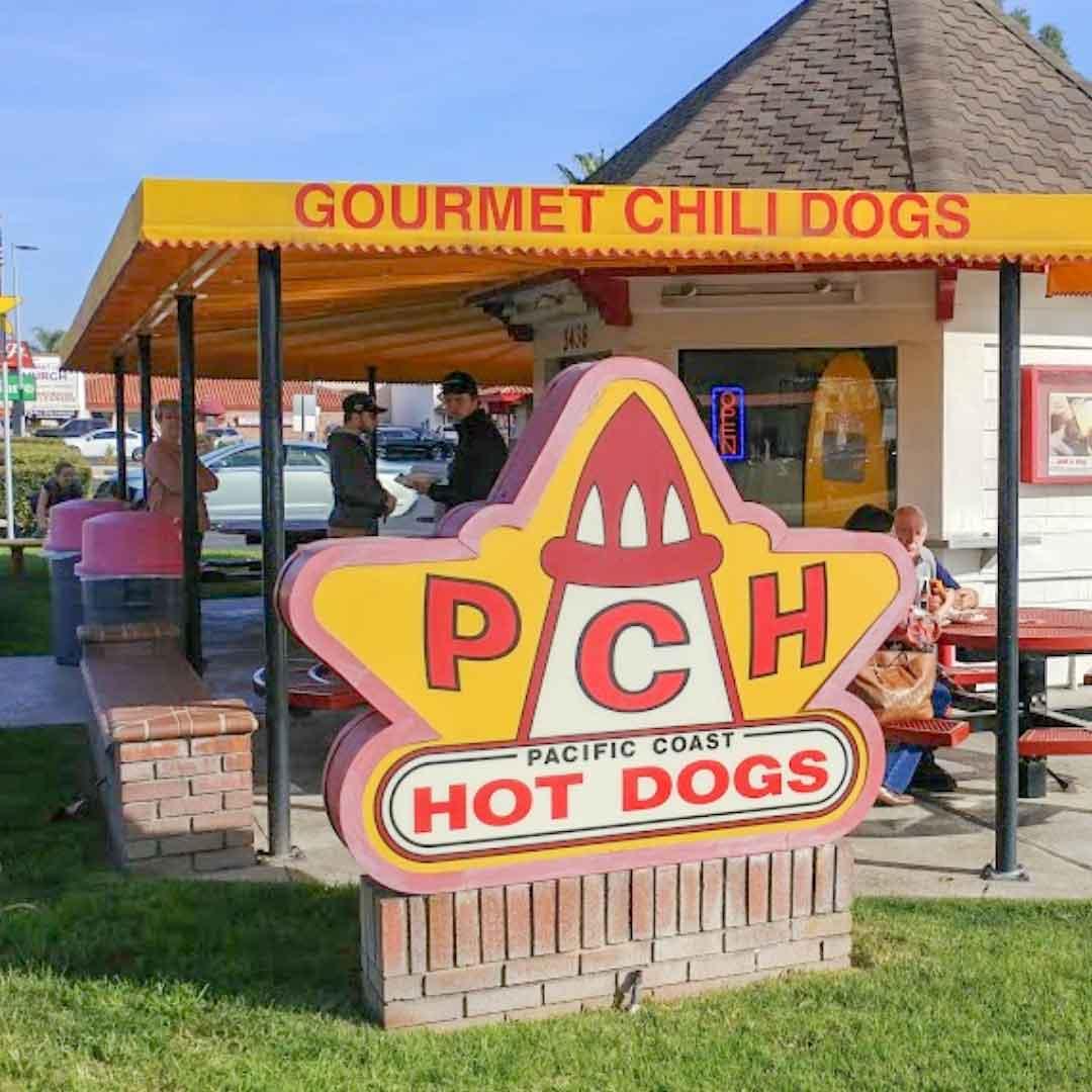 PCH Hot Dogs | Orange County DeLorean Club