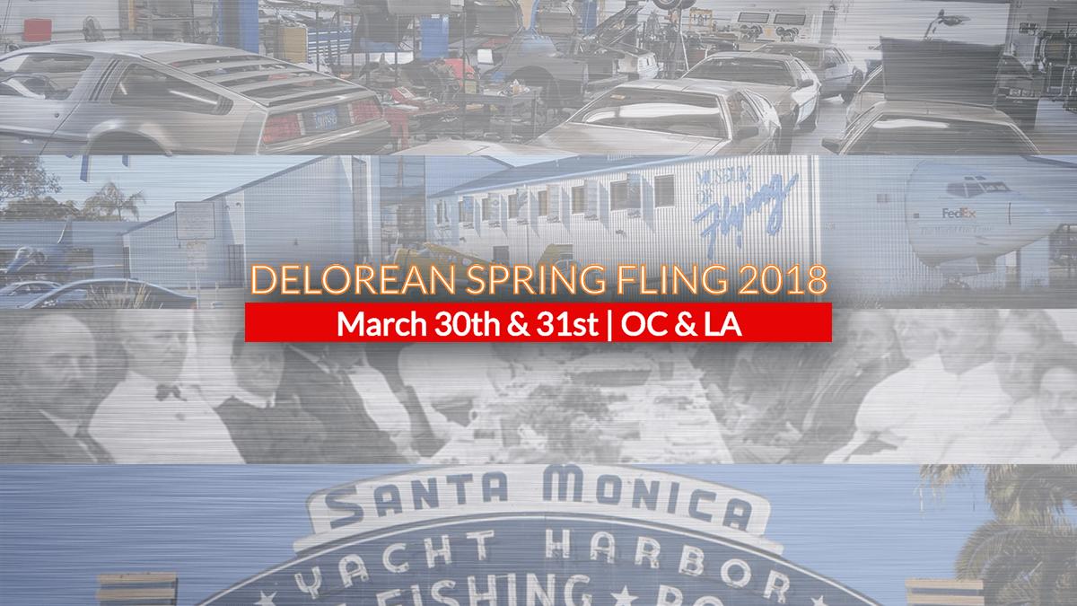 DeLoreans Spring Fling 2018 | Orange County DeLorean Club